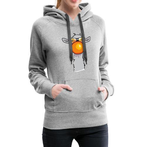 Chewing Llama - Frauen Premium Hoodie
