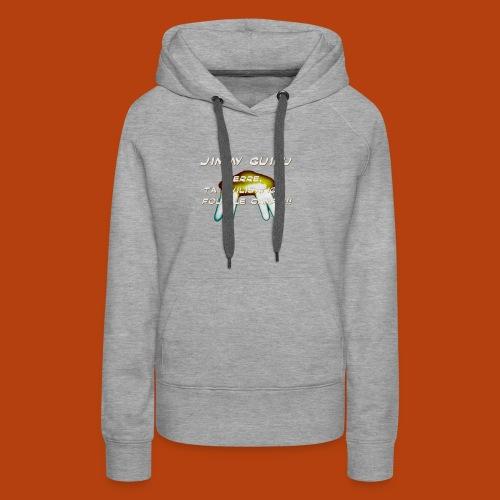 JIMMY GUIEU - Sweat-shirt à capuche Premium pour femmes