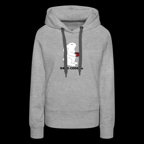 whiterabbit - Sweat-shirt à capuche Premium pour femmes