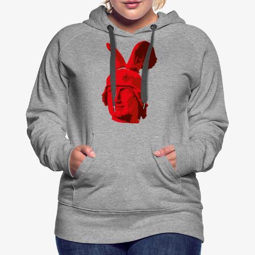 Kopf des Hermannsdenkmals - Frauen Premium Hoodie