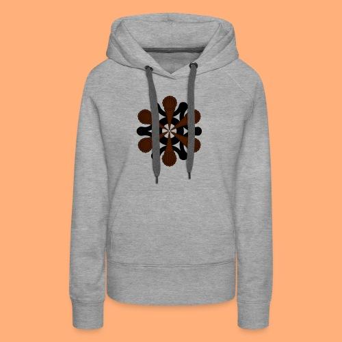 vortex - Sweat-shirt à capuche Premium pour femmes