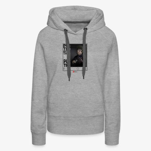 bboy forever - Sudadera con capucha premium para mujer