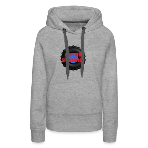 Logo with no blue background - Women's Premium Hoodie