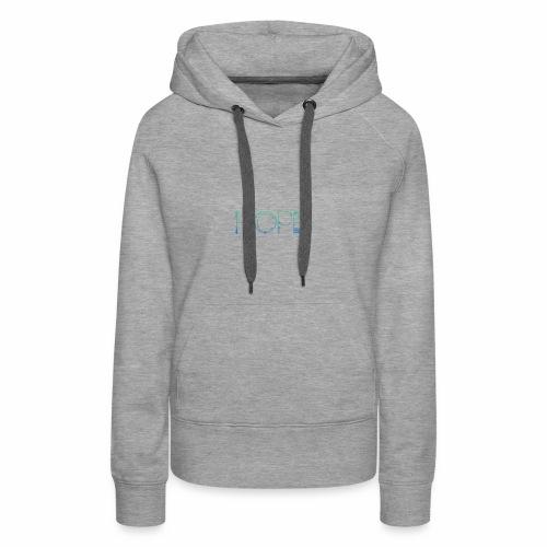 HOPE2 - Sudadera con capucha premium para mujer