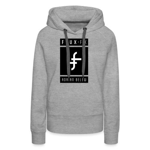 FLUXFX_logo_belew - Women's Premium Hoodie