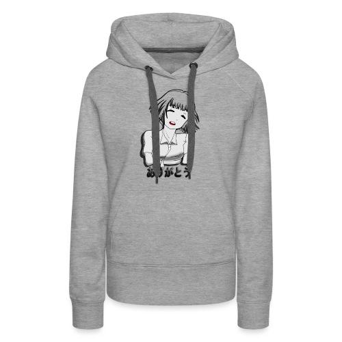 Animegirl - Sudadera con capucha premium para mujer