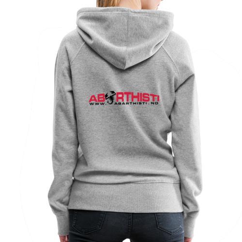 abarthlogored - Premium hettegenser for kvinner