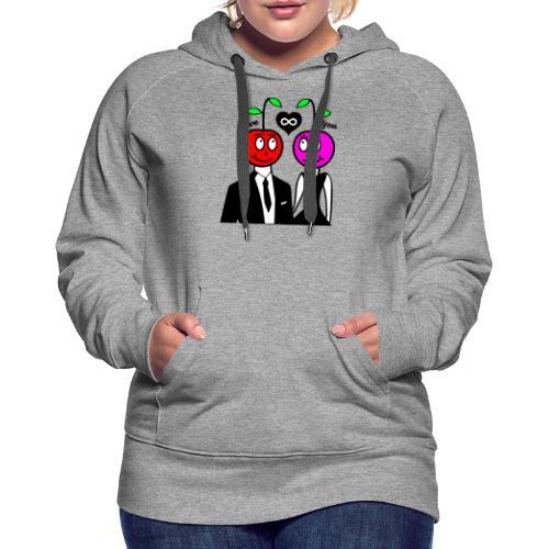 Happy Kirsche - Frauen Premium Hoodie