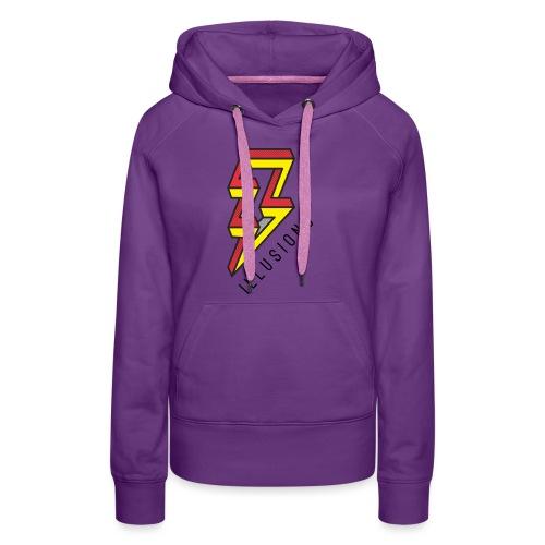 ♂ Lightning - Frauen Premium Hoodie