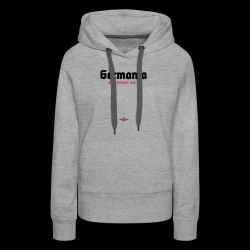 Germania delenda est - Frauen Premium Hoodie