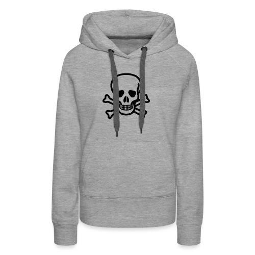 Skull and Bones - Frauen Premium Hoodie