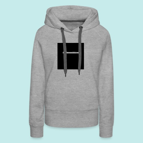 the iconic trademark for our campaign - Women's Premium Hoodie