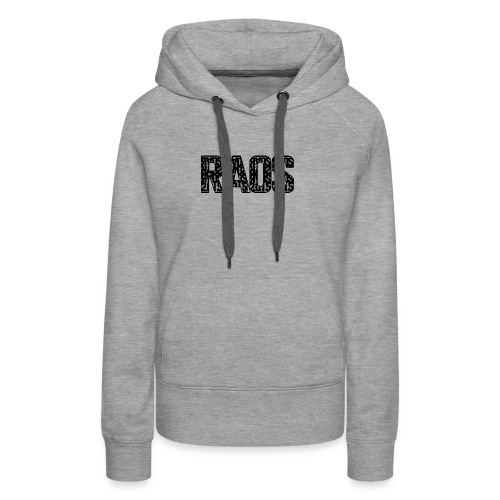 Raos Logo Letter Art - Frauen Premium Hoodie