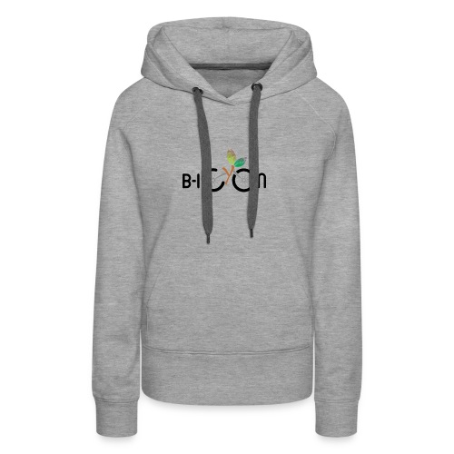B-Icon Logo (Light Colored Items) - Vrouwen Premium hoodie
