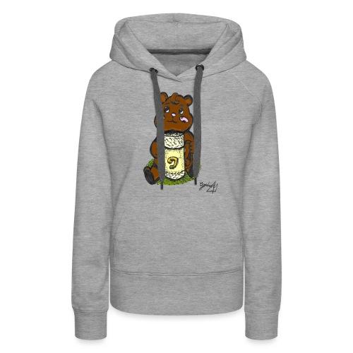 Ours Simple - Sweat-shirt à capuche Premium pour femmes