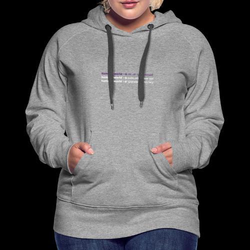 sudo reset - Frauen Premium Hoodie
