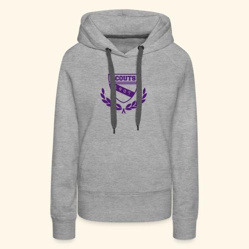 Scout Emblem - Frauen Premium Hoodie