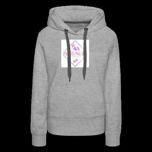 shopping tas - Vrouwen Premium hoodie