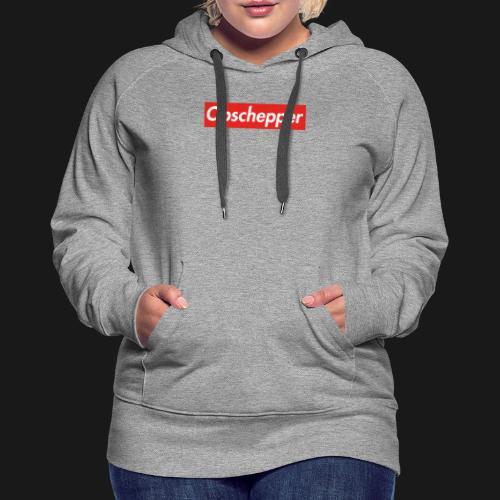 Opschepper Classic Rood - Vrouwen Premium hoodie