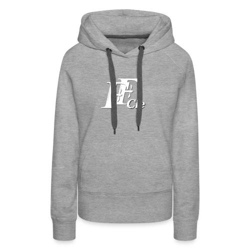 logoffblanctshirt - Sweat-shirt à capuche Premium pour femmes