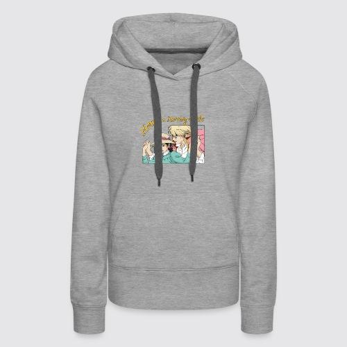 Howl's Moving Castle - Sweat-shirt à capuche Premium pour femmes