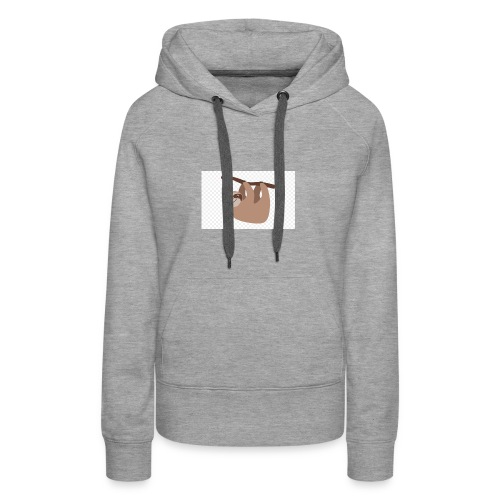 kisspng sloth clip art cuteness cartoon - Frauen Premium Hoodie