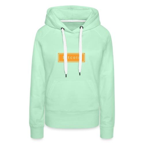 bitcoin basic - Vrouwen Premium hoodie