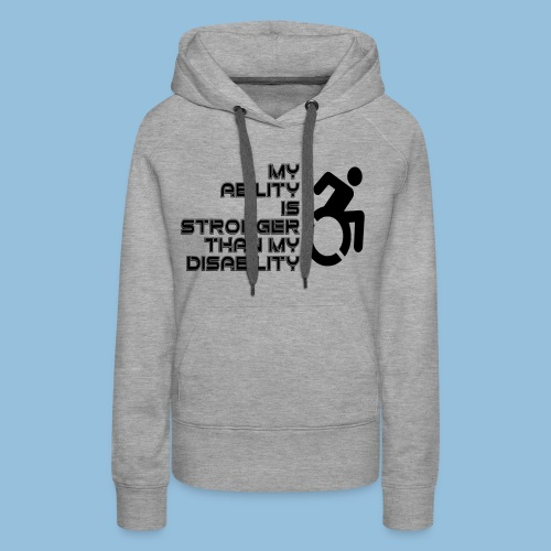 Ability1 - Vrouwen Premium hoodie