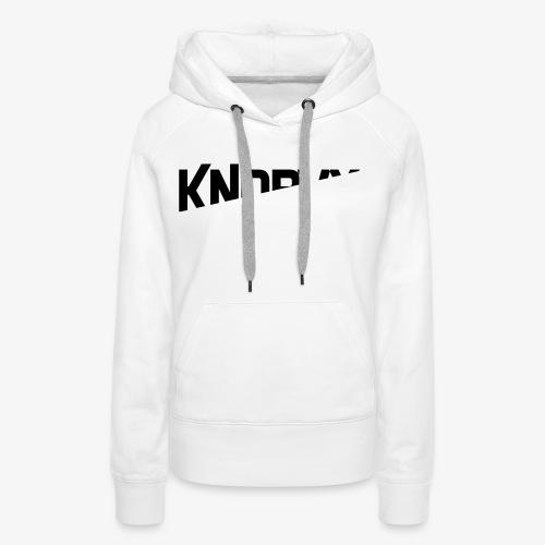 KNORVY - Vrouwen Premium hoodie