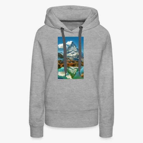 Matterhorn Triangulation - Frauen Premium Hoodie