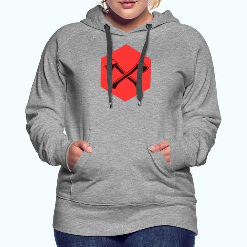 Hipster ax - Women's Premium Hoodie