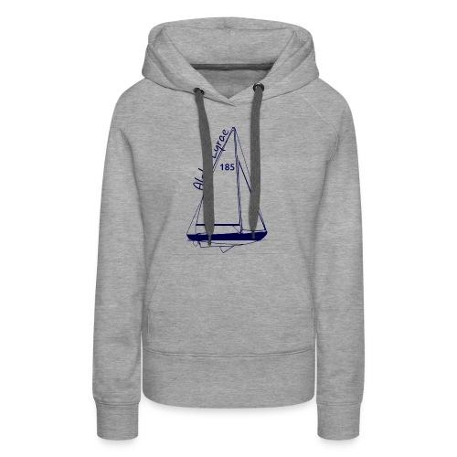 dos - Sweat-shirt à capuche Premium pour femmes