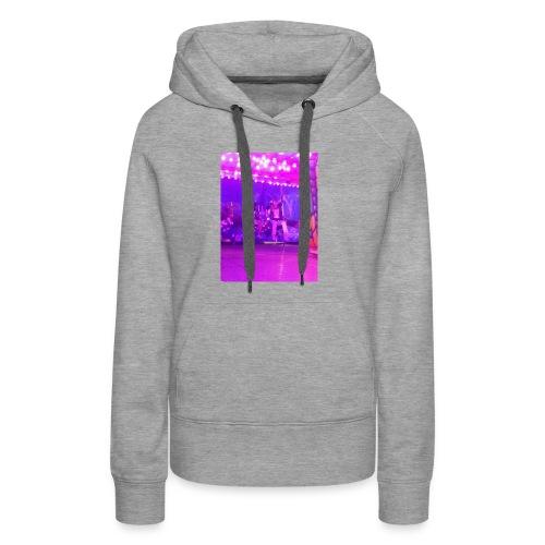 Fête foraine manège magie plein de couleurs rose . - Sweat-shirt à capuche Premium pour femmes