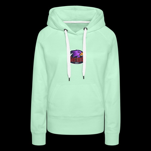 Sektion9 logo lila - Frauen Premium Hoodie