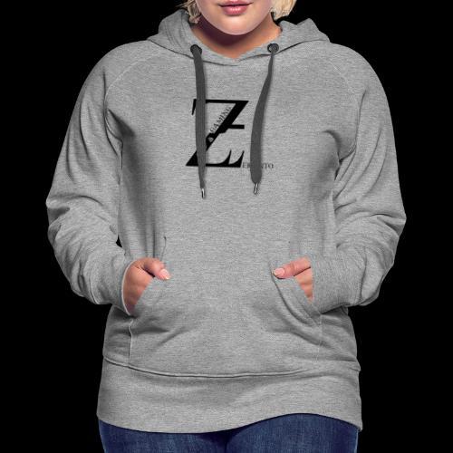 ZerantoLogoBlack - Frauen Premium Hoodie