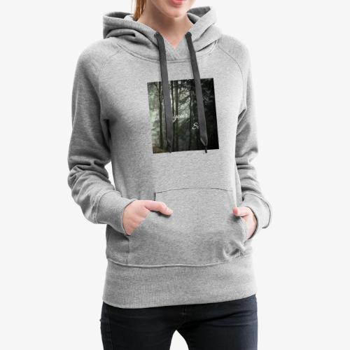 forest - Sudadera con capucha premium para mujer