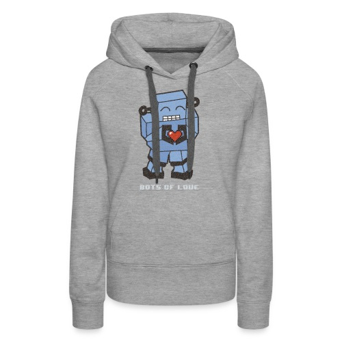 Bots of love grunge - Women's Premium Hoodie