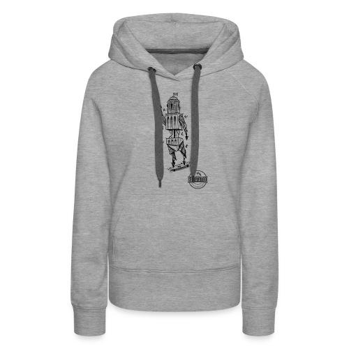 ZWOLLE 038 rattatattoo zwolle perperbus - Vrouwen Premium hoodie