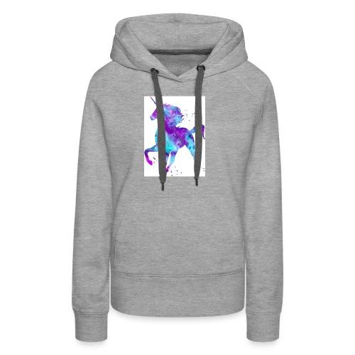Kids shirt unicorn cooper - Women's Premium Hoodie