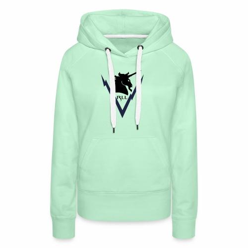 Brand RLL Color - Felpa con cappuccio premium da donna