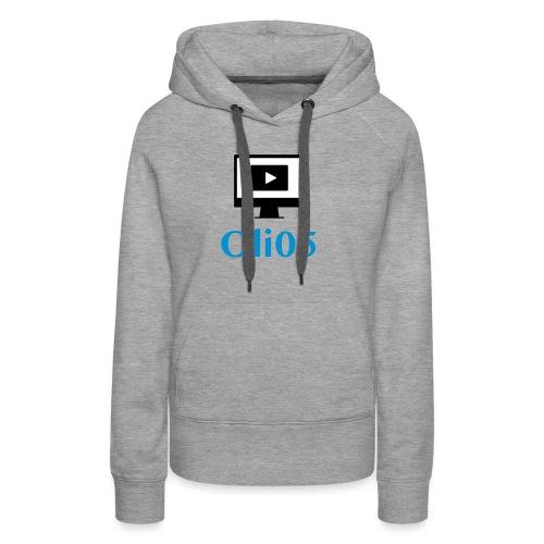 Oli05 Original logo - Premium hettegenser for kvinner