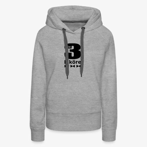 Die 3 Liköre - logo schwarz - Frauen Premium Hoodie
