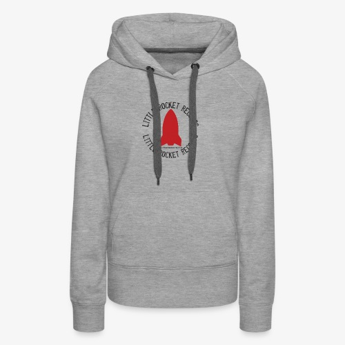 Little Rocket Records 2017 Logo - Women's Premium Hoodie