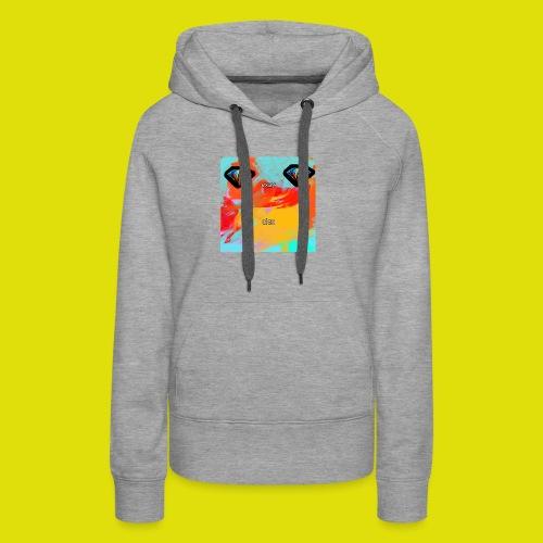grey hoodie youtube logo - Women's Premium Hoodie