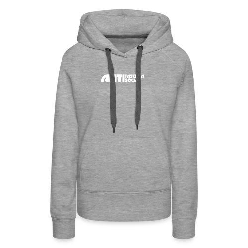 Antifaso_vit - Premiumluvtröja dam