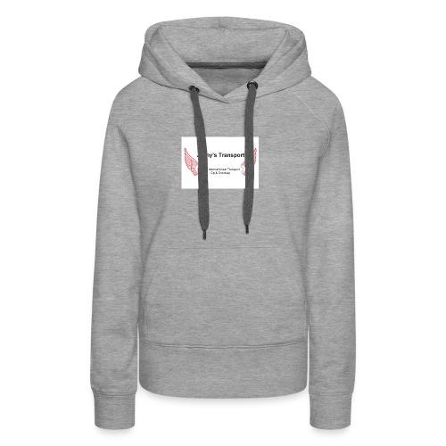 jaimy mooie trans - Vrouwen Premium hoodie