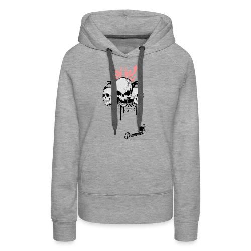 Bloody Skulls - Women's Premium Hoodie