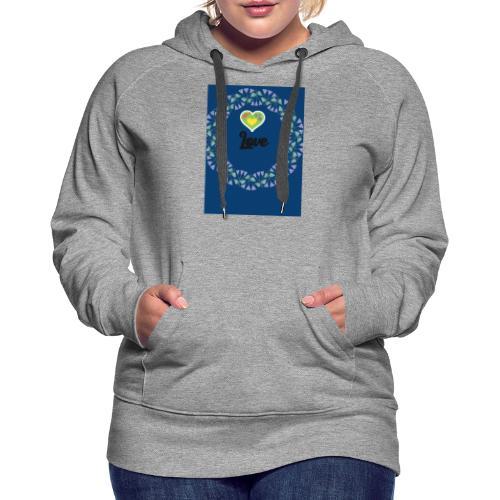 Love - Dame Premium hættetrøje