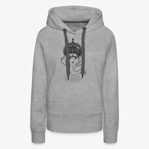 Travel quote 4 - Women's Premium Hoodie