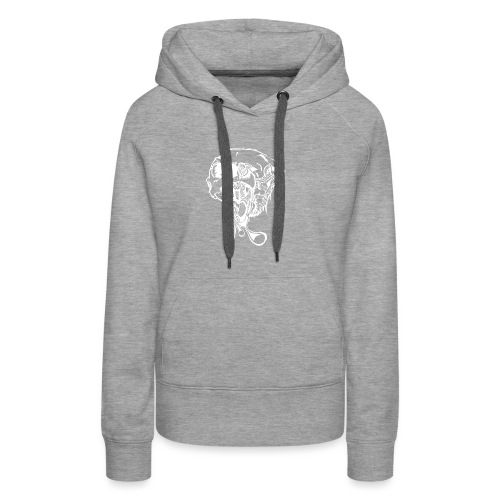 Bear drawing - Women's Premium Hoodie